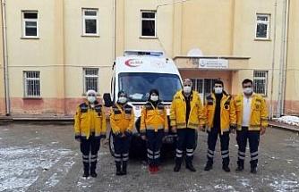 Tavas'a tam donanımlı ambulans teslim edildi