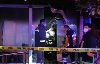 Tekstil mağazasında düdüklü tencerenin patlaması sonucu çıkan yangında 1 kişi öldü