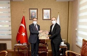 TGKA Genel Müdür Yardımcısı Türkmen, Vali Su'yu ziyaret etti