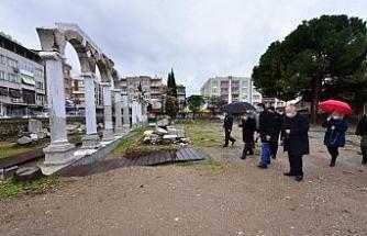Vali Karadeniz, Akhisar ilçesinde incelemelerde bulundu
