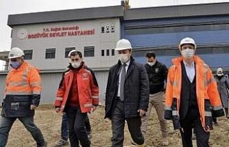 Yeni Bozüyük Devlet Hastanesi inşaatının yüzde 70'i tamamlandı