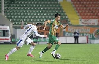 Ziraat Türkiye Kupası: Aytemiz Alanyaspor: 2 - BB Erzurumspor: 1 (İlk yarı)