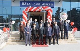 112 Acil Çağrı Merkezi hizmete başladı