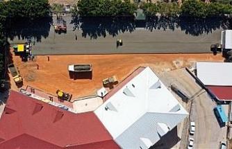 Alanya Belediyesi sıkıştırılmış beton tekniğini ilk kez uyguladı