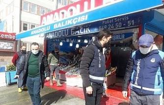 Başakşehir'de restoranlar denetlendi