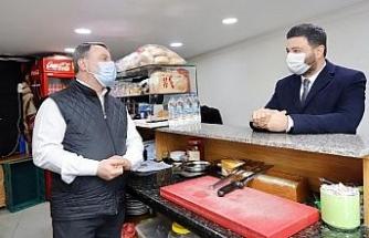 Başkan Öztekin esnaf ziyaretlerine başladı