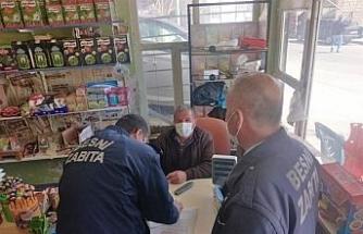Besni'de korona virüs denetimleri devam ediyor