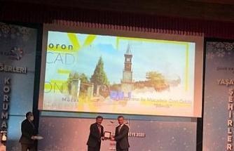 Bilecik Belediyesi 'Korona ile Mücadele Özel Ödülü'ne layık görüldü