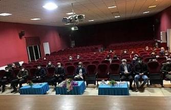 Bingöl Solhan'da ailelere ve çocuklara film gösterimi