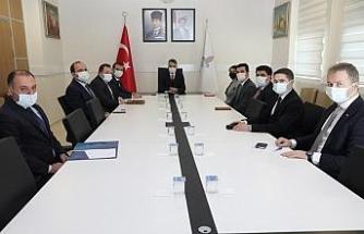 Bitlis'te kaymakamlar toplantısı