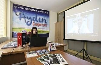 Büyükşehir Belediyesi, Dijital Fuar'da Aydın'ı tanıtıyor