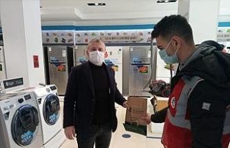 Büyükşehir'den şehir merkezine hijyen paketi desteği