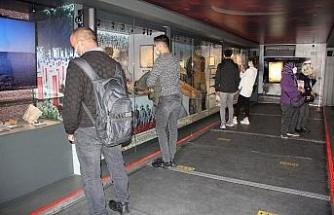 Çanakkale Savaşları Mobil Müzesi Mersinlileri duygulandırdı