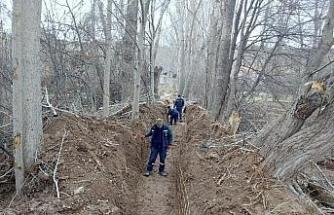 Çankırı Belediyesinden su kayıplarına karşı önlem