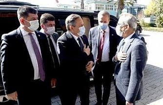CHP Genel Başkan Yardımcısı Torun, Başkan Bozdağan'ı ziyaret etti