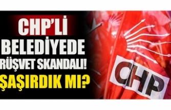 CHP'li belediyeye rüşvet operasyonu!