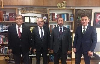 Çorum Ticaret Borsası'nın Ankara ziyaretleri