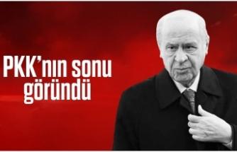 Devlet Bahçeli: PKK'nın sonu göründü