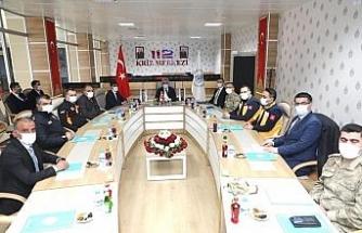 Erzincan'da 112 İl Koordinasyon toplantısı düzenlendi