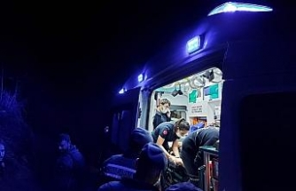 Irmağa yuvarlanan 83 yaşındaki kadın ağır yaralandı