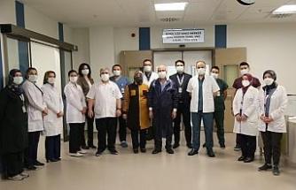 Kayseri Şehir Hastanesi'nde ilk kemik iliği nakli başarı ile gerçekleştirildi
