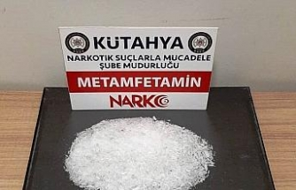 Kütahya'da 120 gram metamfetamin ele geçirildi