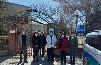 Odunpazarı Belediyesi'nden rehabilitasyon merkezlerine ziyaret