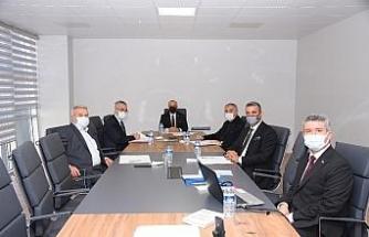 Salihli OSB modern binada ilk toplantısını yaptı