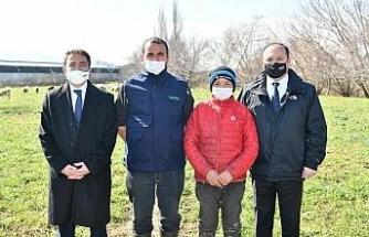 TARSİM'den Havranlı Şevki Savran ve ailesine ziyaret