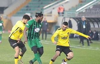 TFF 1. Lig: Akhisarpor: 0 - İstanbulspor: 1