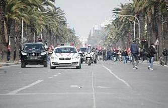 Tunus'ta Ennahda Partisi destekçileri gösteri düzenledi