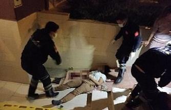 Üçüncü kattan düşen kadın ağır yaralandı