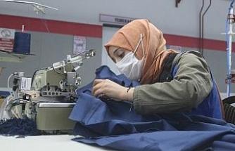 Van, devlet teşvikiyle bölgenin tekstil üssü oluyor