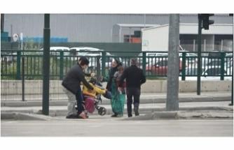 Bursa'da dilencilere maneviyat operasyonu