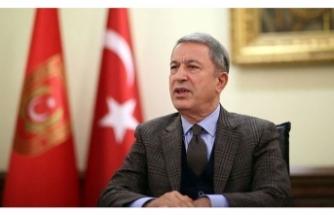 Bakan Akar: 'Pençe' operasyonlarında 113 terörist etkisiz hale getirildi