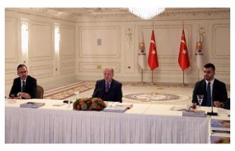 Cumhurbaşkanı Erdoğan, gençlerle video konferansla bir araya geldi