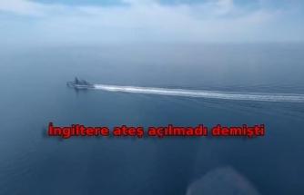 Rusya Savunma Bakanlığı, HMS Defender'a ait görüntüleri yayınladı