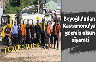 Beyoğlu'ndan Kastamonu'ya geçmiş olsun ziyareti