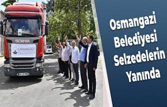 Osmangazi Belediyesi Selzedelerin Yanında
