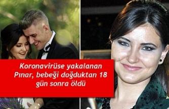 Koronavirüse yakalanan Pınar, bebeği doğduktan 18 gün sonra öldü