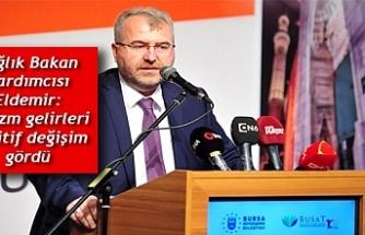 Sağlık Bakan Yardımcısı Eldemir: Turizm gelirleri pozitif değişim gördü