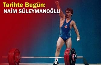 Tarihte Bugün: Naim Süleymanoğlu
