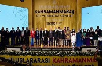 2'nci Uluslararası Kahramanmaraş Şiir ve Edebiyat Günleri başladı