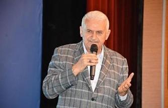 AK Parti Genel Başkan Vekili Binali Yıldırım Sivas'ta (2)