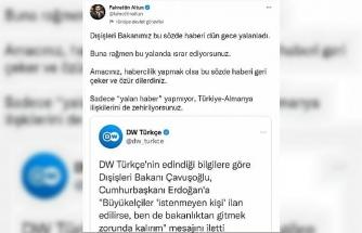 Altun: Türkiye-Almanya ilişkilerini zehirliyorsunuz