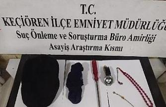 Ankara'da ikieve giren hırsız, 50'ye yakın kamera görüntüsü ile yakalandı