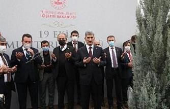 Ankara'da muhtarlar adına hatıra ormanları oluşturuldu