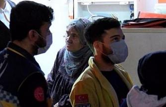 Bağcılar'da çatı yangını; kocasını içeride sanarak ağladı