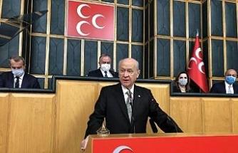 Bahçeli: Kavala, Soros'un kuryesi, Gezi Parkı olaylarının kışkırtıcısıdır