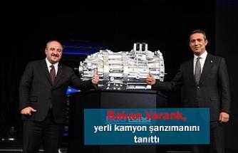 Bakan Varank, yerli kamyon şanzımanını tanıttı